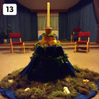Happy third advent! After the advent garden in the Hall...