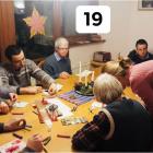 Christmas card workshop at Rainbow