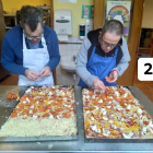 Thank you bakers for preparing our pizzas!